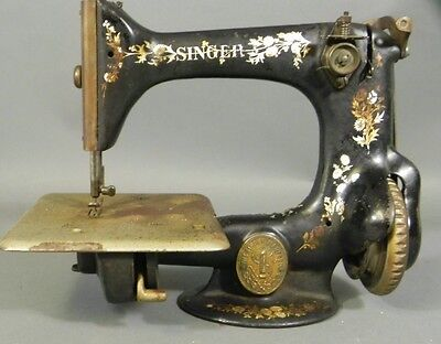 Antique Small Singer Sewing Machine 1899 Model 24 or 25 ?