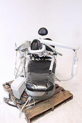 Pelton and Crane SP30 Dental Ultraleather Chair w/ Delivery System & Exam Light