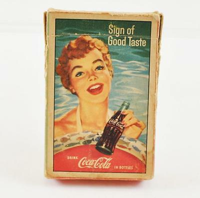 Vintage 1950's Coca-Cola Playing Cards