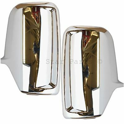 Chrome wing door mirrors covers for Volkswagen Crafter 2006-2013