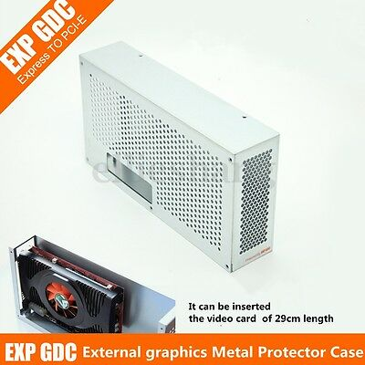 V8.0 EXP GDC External Independent Video Card Metal Protector Case Box For Beast