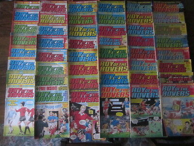 ROY OF THE ROVERS COMICS ~ 1982 - 83 -84 - 85 ISSUES ~ 100+ comics - magazines ~