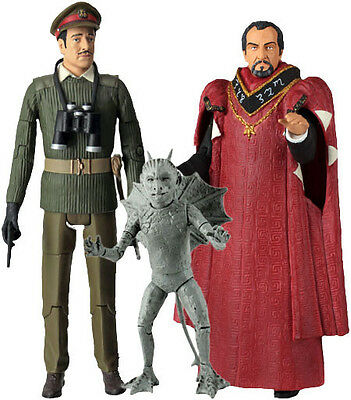 """Doctor Who - The Daemons 5"""" Action Figures Set of 3 NEW IN BOX"""