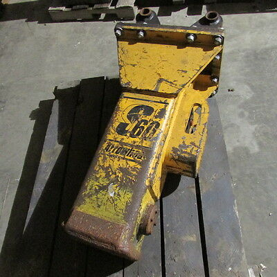 S 60 Arrowhead Hydraulic Hammer/Breaker Rebuilt for Excavator or Backhoe