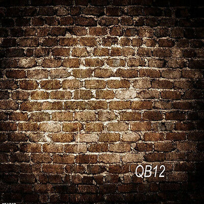 10X10FT Vintage Brick Wall Vinyl Photography Backdrop Background Studio Props