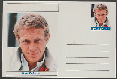CINDERELLA - 3957 - STEVE McQUEEN  featured on fantasy Postal Stationery card