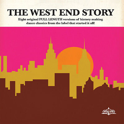 The West End Story Records 2 X Lp Set Taana Gardner B.t. Sparque Michelle Stone