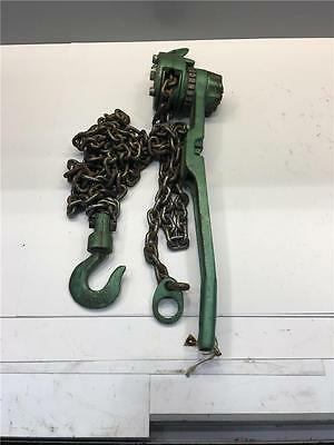 Industrial Small F4 JET 1/2 TON 10ft Lift Lever Hoist Come Along Puller Tool