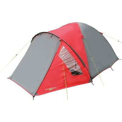 Yellowstone Ascent 3 Man Tent 3 Season (Red)