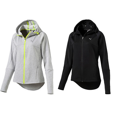 GIACCA TUTA DONNA PUMA ACTIVE TRANSITION JACKET FULL ZIP felpa