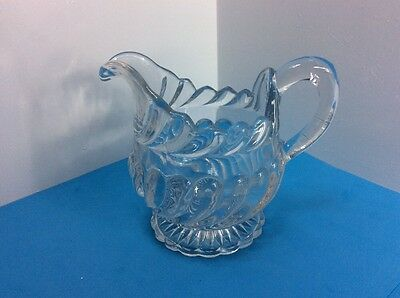 Vintage Glass Milk/ Cream Jug