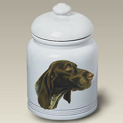 Ceramic Treat Cookie Jar - German Shorthaired Pointer (LP) 45049