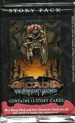 Arcadia Ccg - King Ironheart's Madness Story Pack