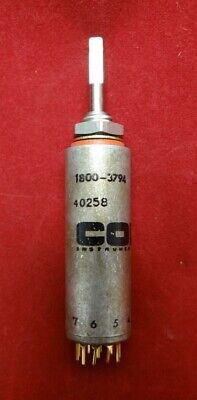 Cole Rotary Switch 1800-3794, 40255, NSN 5930-01-251-8804