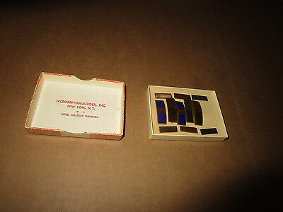 VINTAGE MILITARY Insignia Lot in original Box - date unknown