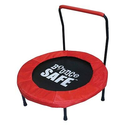 Bouncesafe - 36-inch Trampoline with Handle
