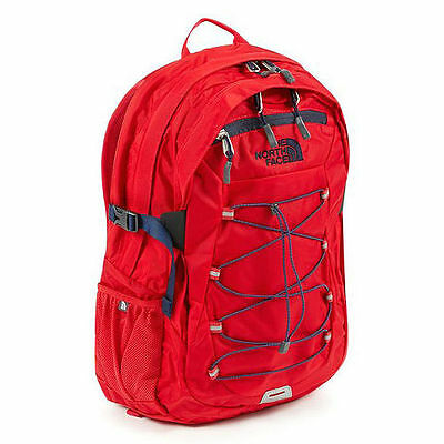 NEW The North Face Borealis Classic 28L Backpack Red/Blue NWT
