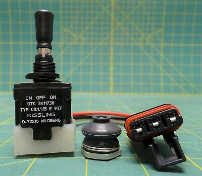 Kissling Toggle Switch P/N 3636508, NSN: 5930-01-512-3802