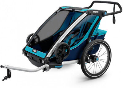 Thule Chariot Cross 2 Child Trailer Blue/Poseidon