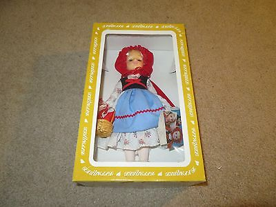 """Effanbee #1178 Little Red Riding Hood Doll 11"""" Tall 1985 MIB See My Store"""