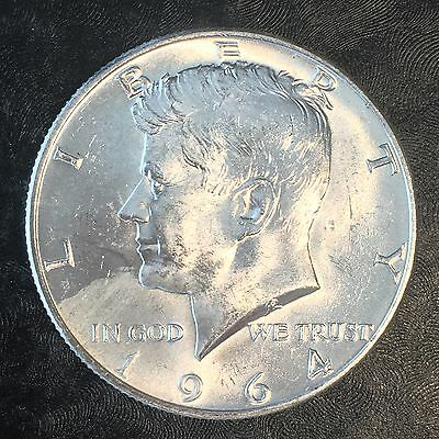 1964 Kennedy Silver Half Dollar - Investment Quality Brilliant Uncirculated