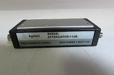 Agilent 84904L Prog. Step Attenuator, DC to 40 GHz, 0 to 11 dB, db-1