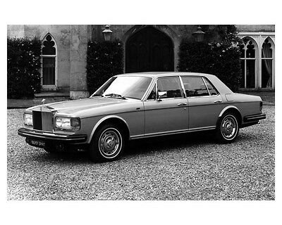 1982 Rolls Royce Silver Spirit Factory Photo uc1527