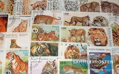 Thematics 100 different Wildcats stamps