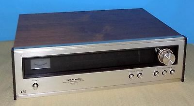 Realistic TM-1000 AM / FM Stereo Tuner GREAT CONDITION!!
