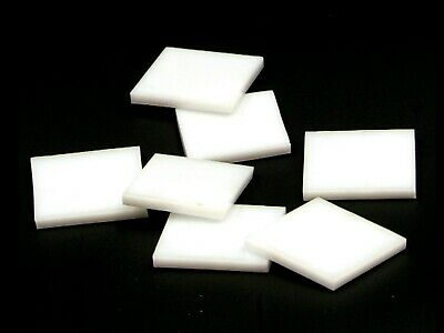 White Opal Fusible 96 coe Mosaic Glass Tile Cut to Order ShapesLg Pack