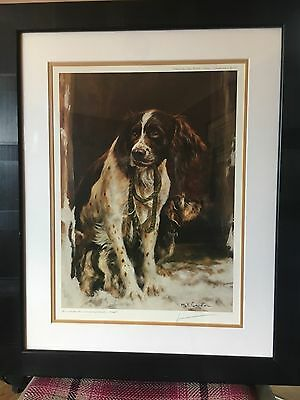 "Mick Cawston Limited Edition Signed Print ""friends"""