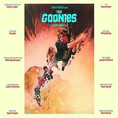 GOONIES Soundtrack LP Vinyl NEW Cyndi Lauper Bangles Luther Vandross