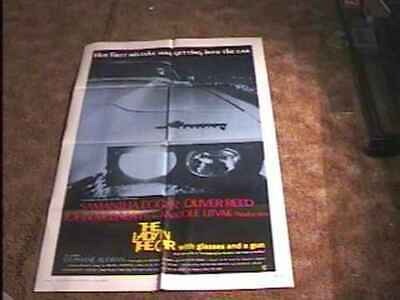 Lady In The Car Movie Poster '70 Murder Mystery