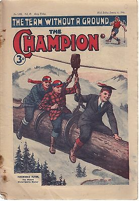 The Champion Boys Comic 15 Issues From 1946  PDF Format