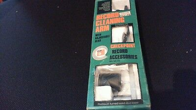 Vintage Basf Record / Vinyl Cleaning Arm With Adjustable Head Kit No 25 In Box