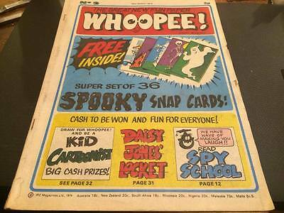 WHOOPEE! Comic - Issue No 3 - UK Paper Comic--23RD MARCH 1974