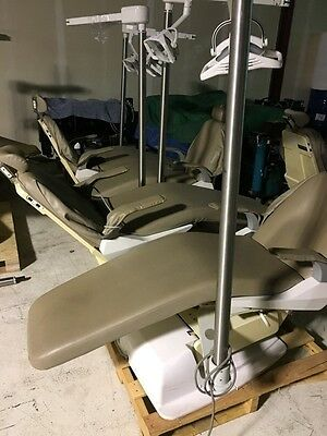 Lot of 5 Belmont X-Calibur Dental Chairs w/ Operatory Exam Lights
