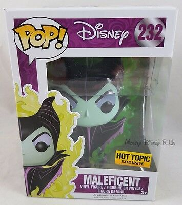 Funko Disney Maleficent #232 (Green Flames) Pop Vinyl Figure Hot Topic Exclusive
