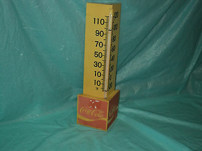 Vintage Made In U.S.A. Coca-Cola Thermometer