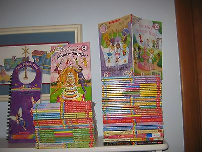 Lot of 57 Rainbow Magic Fairy Books Daisy Meadows RL2 Sets Some NEW Scholastic