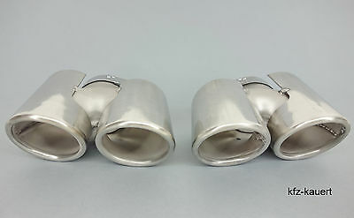 JP Tail pipes Blinds fits Porsche 997 Exhaust pipe Muffler