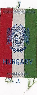 1910-14 Hungary Coat of Arms Tobacco Silk