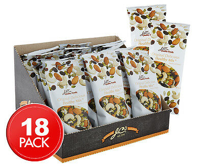 18 x J.C.'s Quality Foods Original Delicious Healthy Mix 45g