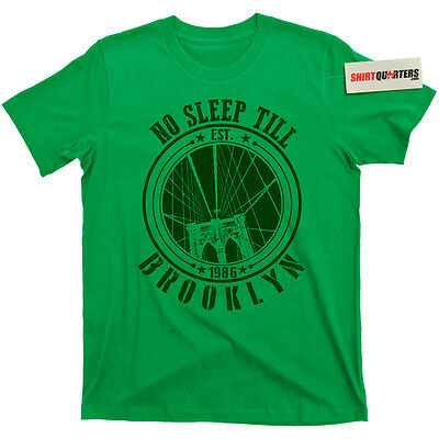 The Beastie Boys Beasties No Sleep Till Brooklyn Licensed to Ill 80s CD T Shirt