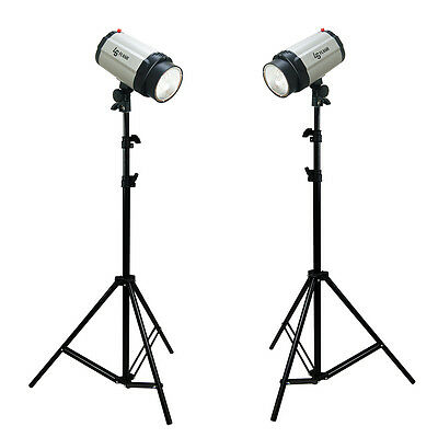 2 X New 7 feet Light Stands for  Video,Portrait&Product Photography Photo Studio