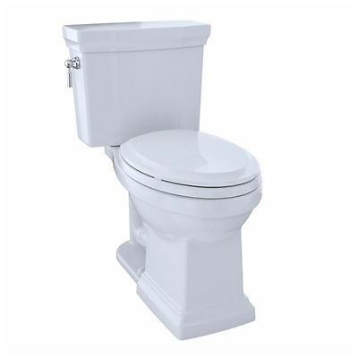 TOTO CST404CEFG#01 Promenade II Two-Piece Elongated Toilet with 1.28 GPF Tornado