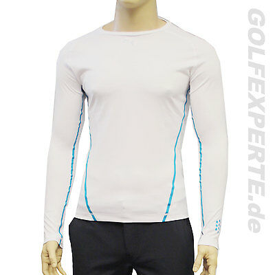Puma Golf Thermal À Manches Longues Couche Hommes Performance Tee Ls Blanc