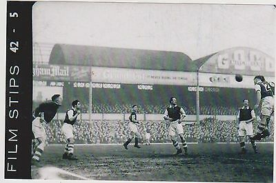 Facup 1948/49 6X4 Rare Photo Aston Villa V Cardiff Taken From Film Stip Negative