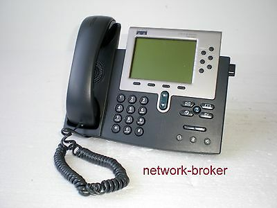 Cisco CP-7960G 7960 IP Phone VoIP Telefon geprüft