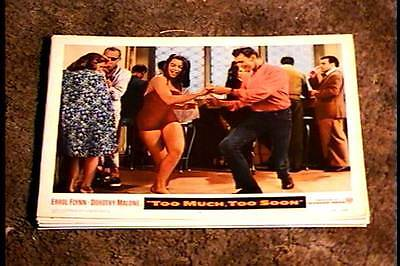 Too Much Too Soon 1958 Lobby Card #2 Dorothy Malone